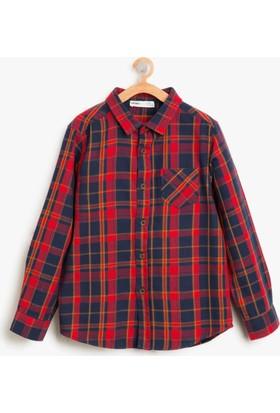 Koton Erkek Çocuk Kareli Gömlek