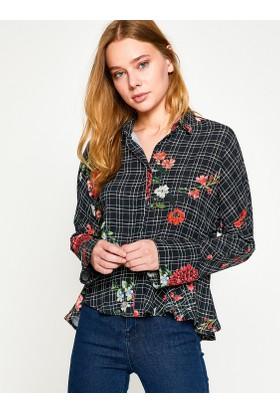 Koton Kadın Çiçekli Gömlek