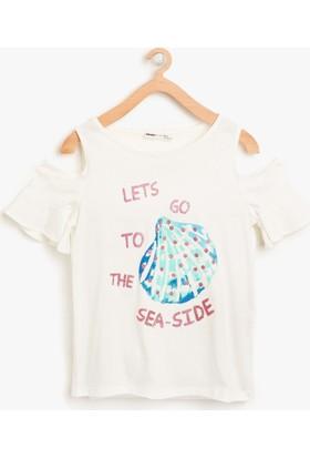 Koton Kız Çocuk Baskılı T-Shirt
