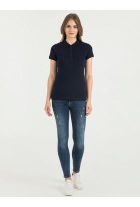 Loft 2017832 Bayan Polo T-Shirt Sleeve