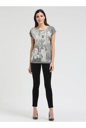 Loft 2008732 Bayan T-Shirt Sleeve