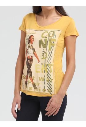 Loft 2010314 Bayan T-Shirt Sleeve