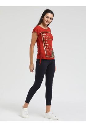 Loft 2010329 Bayan T-Shirt Sleeve