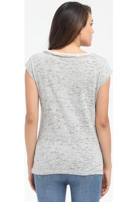 Loft 2015540 Bayan T-Shirt Sleeve
