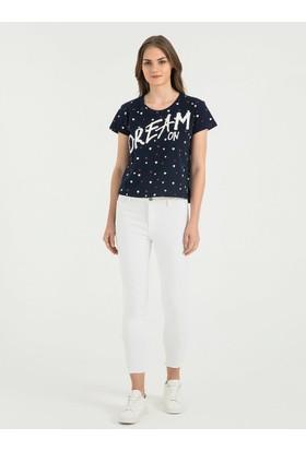 Loft 2016523 Bayan T-Shirt Sleeve