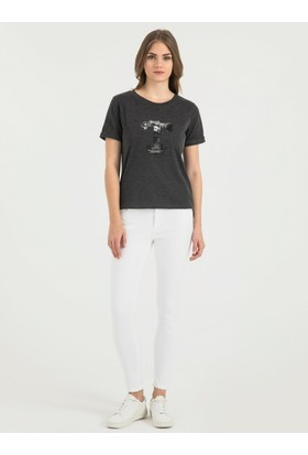 Loft 2015806 Bayan T-Shirt Sleeve