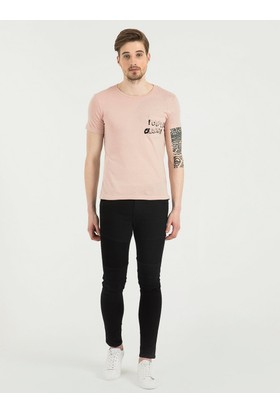 Loft 2017059 Erkek T-Shirt Sleeve
