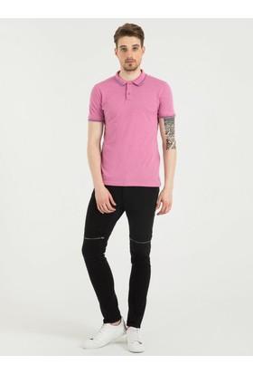 Loft 2016569 Erkek Polo T-Shirt Sleeve