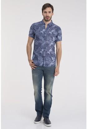 Loft 2014218 Erkek Gömlek Short Sleeve