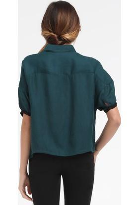 Loft 2015508 Bayan Gömlek Short Sleeve