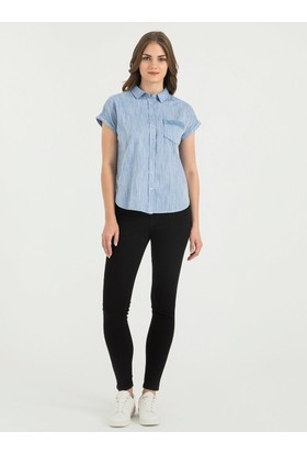 Loft 2016501 Bayan Gömlek Short Sleeve