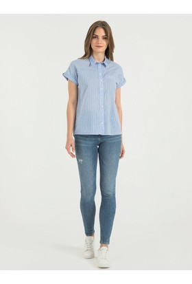 Loft 2016502 Bayan Gömlek Short Sleeve