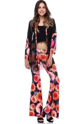 Quincey Çiçekli Pantolon