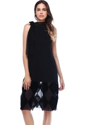 Quincey Etek Ucu Detaylı Elbise