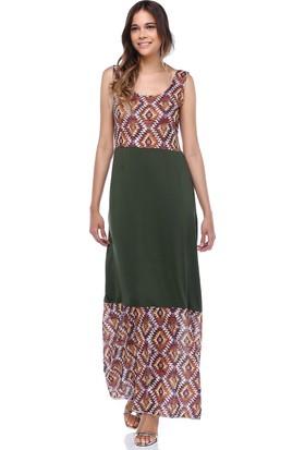 Quincey Etnik Desenli Elbise