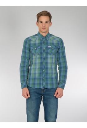 Colins Yeşil Erkek Gömlek