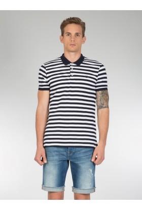 Colins Mavi Erkek Polo Yaka Tshirt