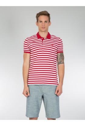 Colins Kırmızı Erkek Polo Yaka Tshirt