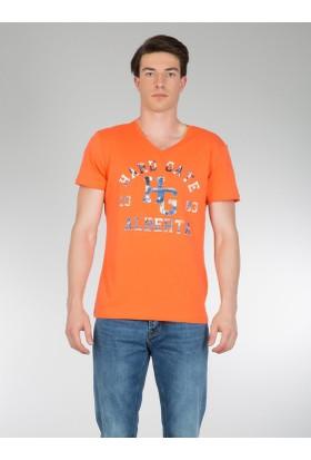 Colins Turuncu Erkek Tshirt