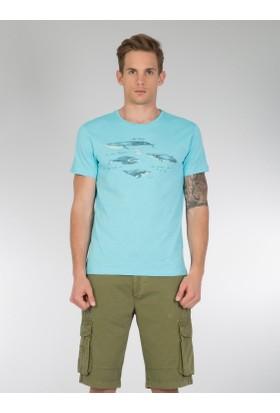Colins Mavi Erkek Tshirt