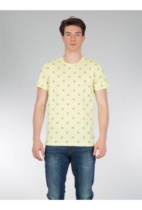 Colins Sarı Erkek Tshirt