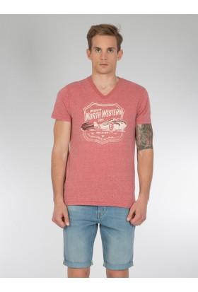 Colins Kırmızı Erkek Tshirt