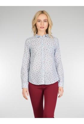 Colins Mavi Kadın Gömlek