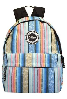 Fudela Fe 27 Unisex Sırt Çantası Desen Renkli