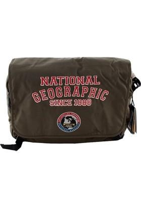 National Geographic 7402 Erkek Postacı Çanta Haki
