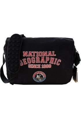 National Geographic 7402 Erkek Postacı Çanta Siyah