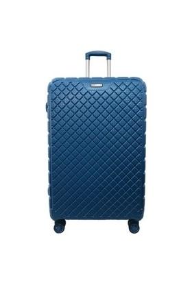 Ehs 5162 Abs Büyük Boy Valiz Mavi