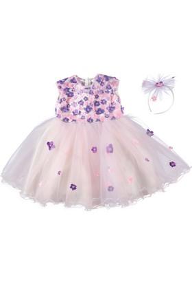 Chatondor Çiçekli Elbise 5 Yaş - Mor