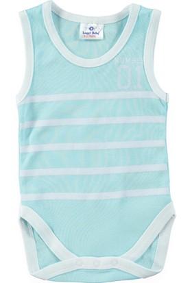 Luggi Baby Atlet Body - Mavi