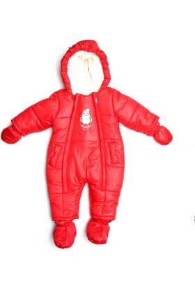 Bombili Bebek Kozmonot Astronot Tulum - Kırmızı