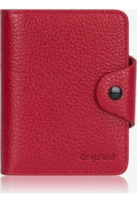 Cengiz Pakel Erkek Cüzdanı Kırmızı Cp1613632Drl14