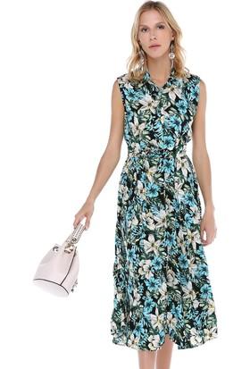 Cream&Rouge 17Y250 Gömlek Elbise