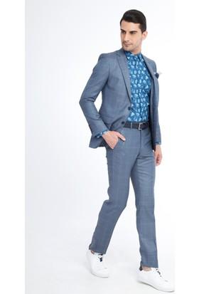 Kiğılı Kareli Takım Elbise