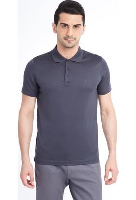 Kiğılı Polo Yaka Slim Fit Merserize T-Shirt