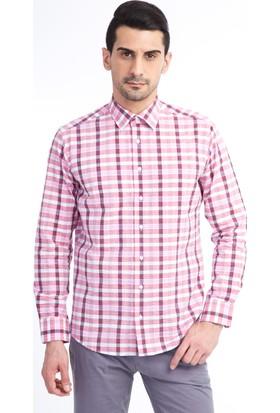 Kiğılı Uzun Kol Ekose Slimfit Gömlek