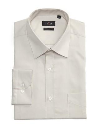 Uztex 1141 Dacron Klasik Uzun Kollu Gömlek