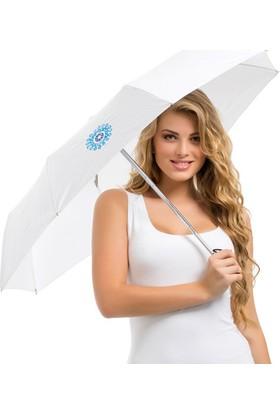 Biggdesign Nazarlık Beyaz Şemsiye