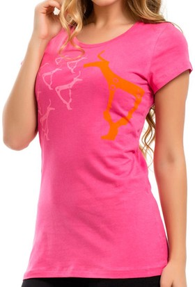 Biggdesign B.C.3000 Geyik Kadın T-Shirt