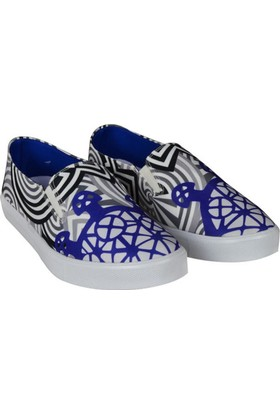 Biggdesign Slipper Güneş Kursu Mavi Ayakkabı