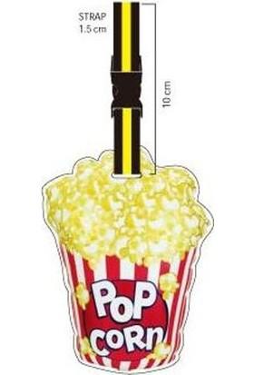 Nektar Lh144 Pop Corn Valiz Etiketi