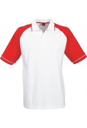 Us Basic 31081251 Polo T Shirt Kırmızı / Beyaz S