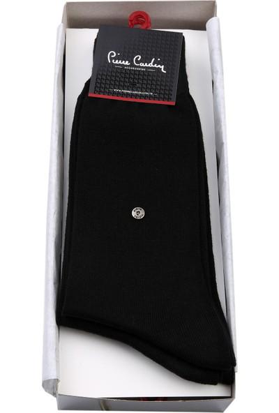 Pierre Cardin Pierre Cardin 6'Lı Siyah 600 Erkek Çorap Crp27