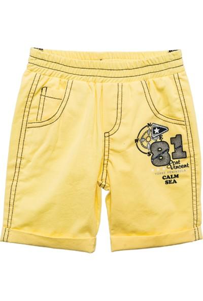 Zeyland Erkek Çocuk Sarı Şort -81M1Bkj03