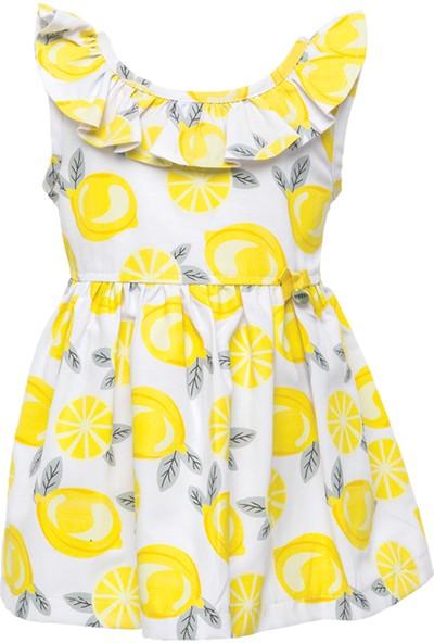 Zeyland Kız Çocuk Beyaz Elbise -81M2Ahu31