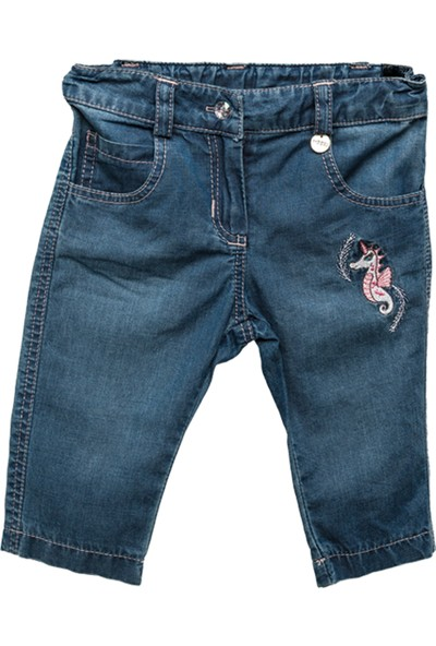 Zeyland Kız Çocuk Mavi Pantolon -81M2Dlr01