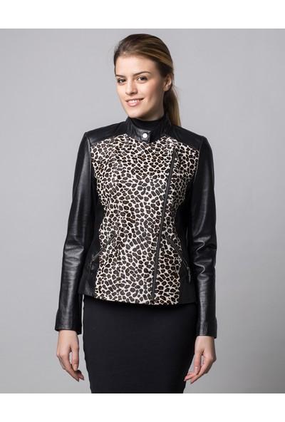 Deriderim Mswb-222 Kadın Siyah Ceket